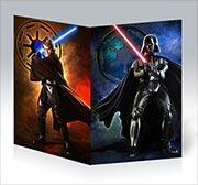 Поздравительная открытка Star Wars