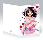 Купить поздравительные открытки Melancholy of Haruhi Suzumiya