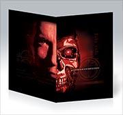 Поздравительная открытка Terminator