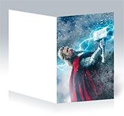Поздравительная открытка Thor