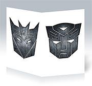 Поздравительная открытка Transformers