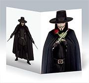Поздравительная открытка V for Vendetta