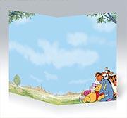 Купить поздравительные открытки Winnie the Pooh