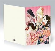 Поздравительная открытка Sayonara Zetsubou Sensei