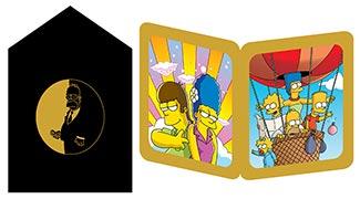Купить серия золотая тень Simpsons