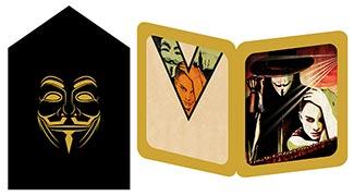 Купить серия золотая тень V for Vendetta