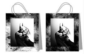 Купить пакеты практичной серии (большие) Batman