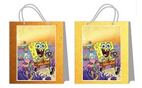 Купить пакеты практичной серии (большие) SpongeBob Squarepants