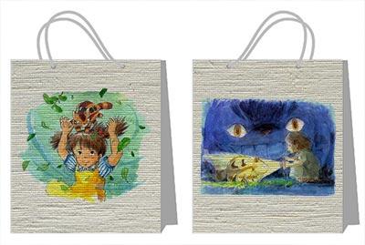 Купить пакеты для украшений (вместительные) My Neighbor Totoro