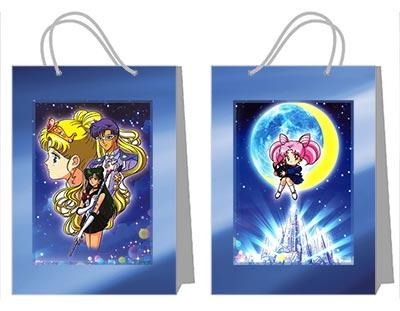 Купить пакеты для украшений (глубокие) Sailor Moon