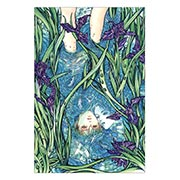 Купить тематические открытки. серия floriant Ayumi Kasai art