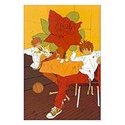 Купить тематические открытки. серия floriant I'll / Crazy KOUZO Basketball Club