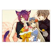 Купить тематические открытки. серия floriant Heart no Kuni no Alice