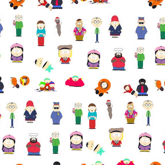 Обёрточная крафт-бумага South Park