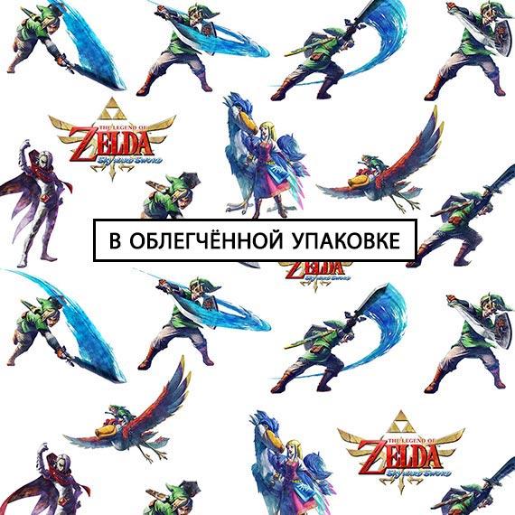 Купить рисовая обёрточная бумага Legend of Zelda