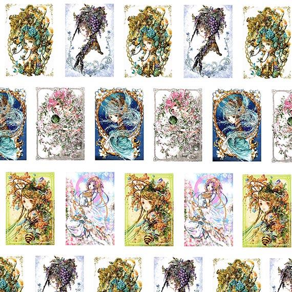 Купить рисовая обёрточная бумага Tukiji Nao Art