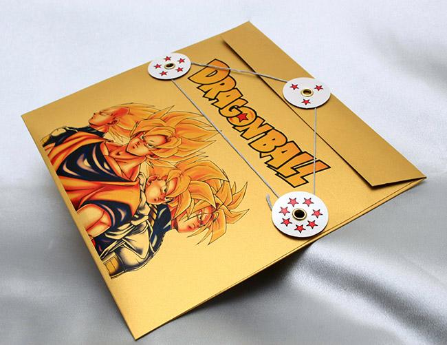 Коллекционные открытки Dragon Ball Z. Набор из 12 открыток. Дизайнерский картон с перламутровым блеском. Размер 13 х 15 см