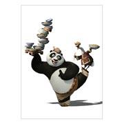 Школьный блокнот Kung Fu Panda