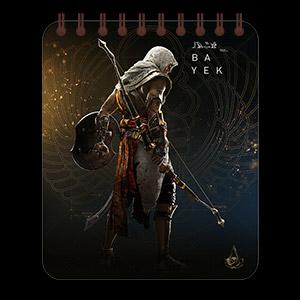 Кофейный блокнот Assassin's Creed