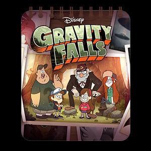 Купить кофейные блокноты Gravity Falls