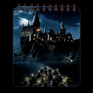 Купить кофейные блокноты Harry Potter