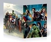 Скетчбук (блокнот для набросков) Avengers
