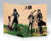 Скетчбук (блокнот для набросков) K-Project