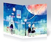 Купить скетчбуки (блокноты для набросков) Vocaloid