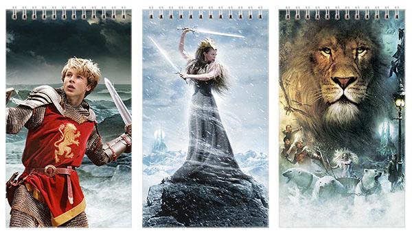 Купить наборы больших универсальных блокнотов Chronicles of Narnia