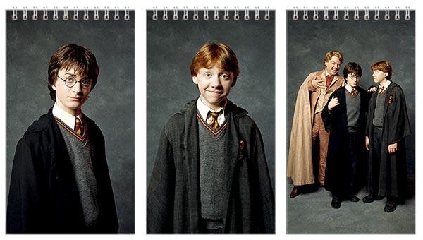 Купить наборы больших универсальных блокнотов Harry Potter