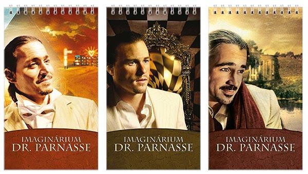 Купить наборы больших универсальных блокнотов Imaginarium of Doctor Parnassus