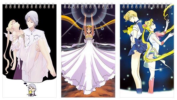 Купить наборы больших универсальных блокнотов Sailor Moon