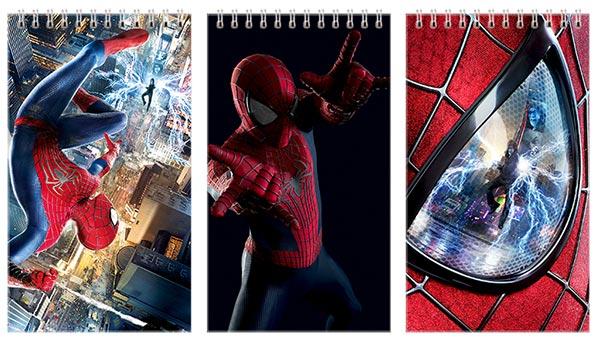 Набор больших универсальных блокнотов Spider-man