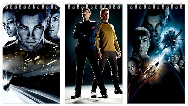 Набор больших универсальных блокнотов Star Trek