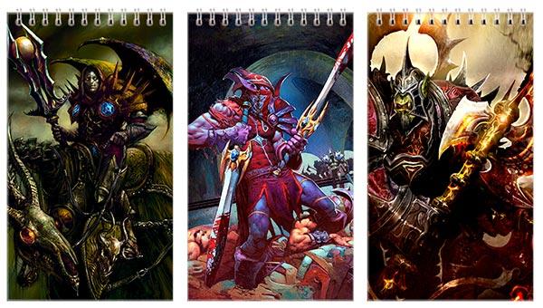 Купить наборы больших универсальных блокнотов Warcraft and World of Warcraft