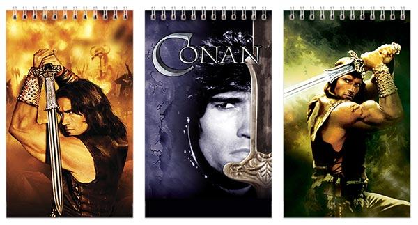Купить наборы маленьких универсальных блокнотов Conan the Barbarian