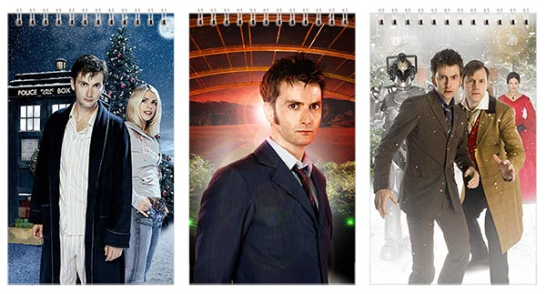 Набор маленьких универсальных блокнотов Doctor Who