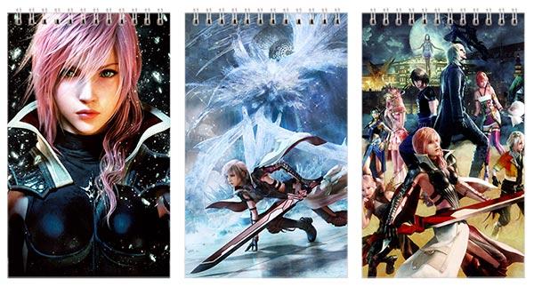 Купить наборы маленьких универсальных блокнотов Final Fantasy
