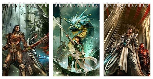 Набор маленьких универсальных блокнотов Heroes of Might and Magic