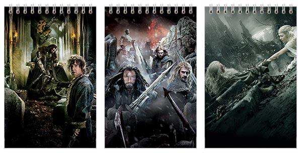 Купить наборы маленьких универсальных блокнотов Hobbit