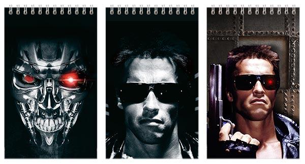Набор маленьких универсальных блокнотов Terminator