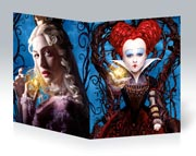 Школьная тетрадь Alice Through the Looking Glass