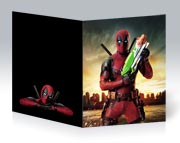 Купить школьные тетради Deadpool