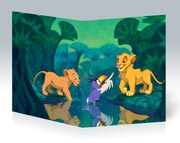 Купить школьные тетради Lion King