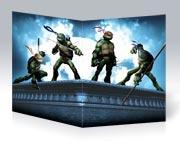 Школьная тетрадь Ninja Turtles