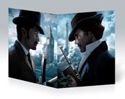 Школьная тетрадь Sherlock Holmes