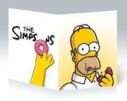 Школьная тетрадь Simpsons