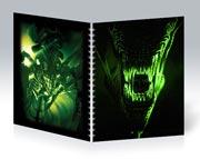 Купить общие тетради Alien