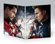 Купить общие тетради Captain America