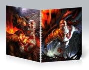 Купить общие тетради God of War